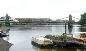 Hammersmith Bridge 2003