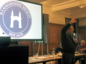 AGM19 - Cllr Harcourt describes Hammersmith Bridge problems